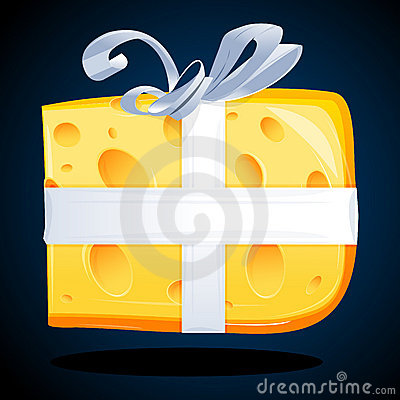 Cheese present