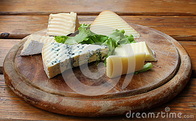 Cheese Rustic Setting