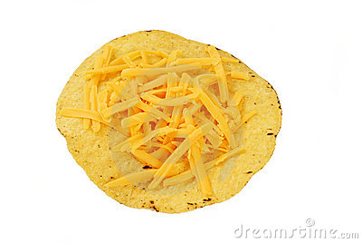 Cheese tostada