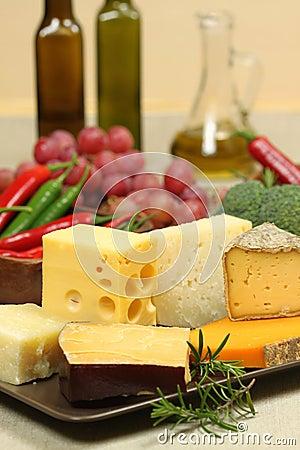 Free Cheese Varieties Stock Photos - 13639313