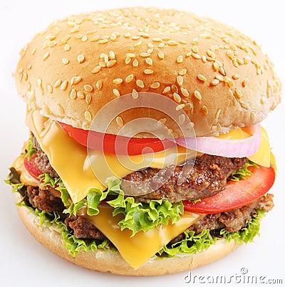 Free Cheeseburger Stock Photography - 12488852