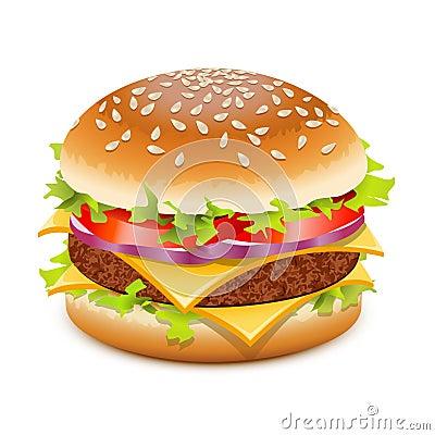 Free Cheeseburger Stock Image - 21857681