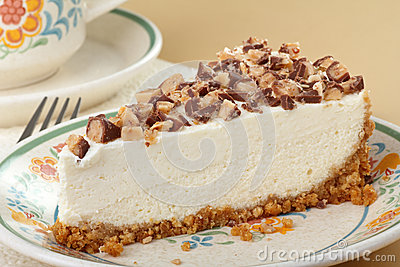 Cheesecake Slice Closeup