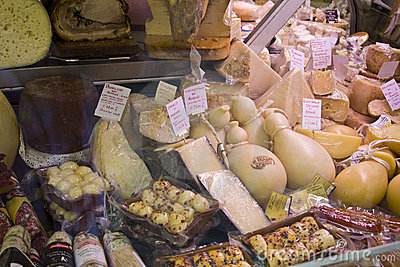 Cheeses Editorial Stock Image