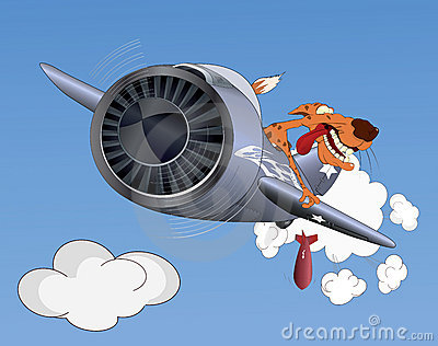 Cheetah the pilot
