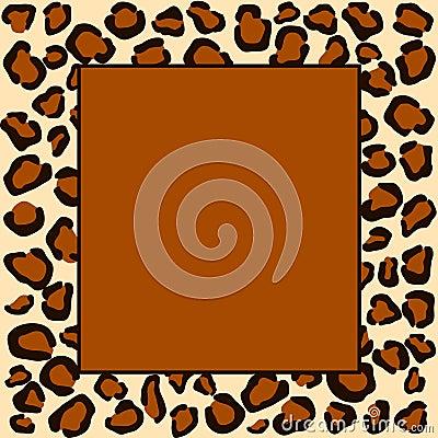Cheetah spots frame