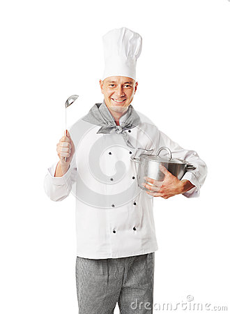 Free Chef Stock Image - 41276091
