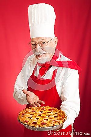 Chef Bakes Cherry Pie
