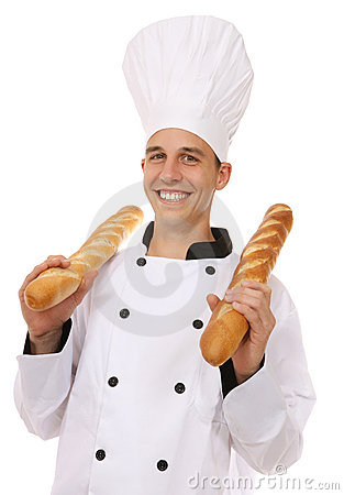 Chef with Bread