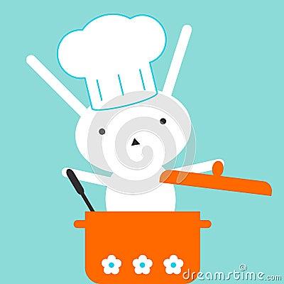 Chef bunny