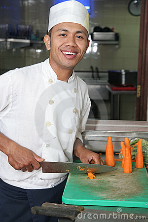 Chef and carrot