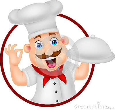 Chef cartoon character royalty free stock images image - Dibujos de cocineros infantiles ...