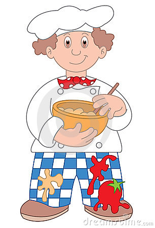 Chef cartoon illustration