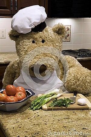 Chef Chopping