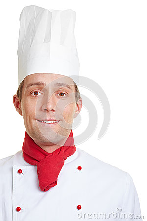 Chef cook in his uniform