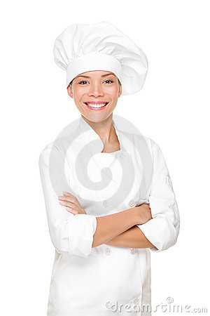 Free Chef, Cook Or Baker Woman Royalty Free Stock Photography - 20717307