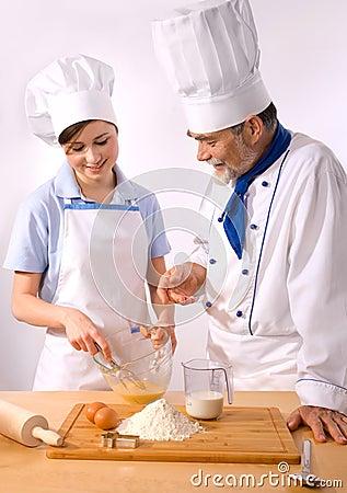 Chef couple