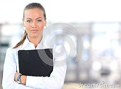 Chef de file des affaires féminin