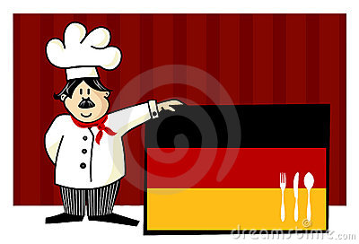 Chef of german cuisine