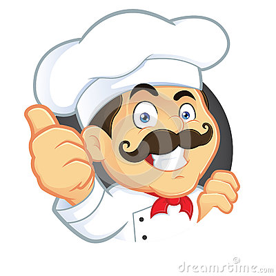 Free Chef Giving Thumbs Up Stock Photo - 37363570