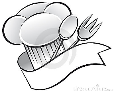 Chef Hat Spoon Fork Royalty Free Stock Image - Image: 32616576