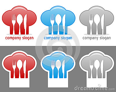 Chef Hat Logo Collection