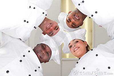 Chef huddle