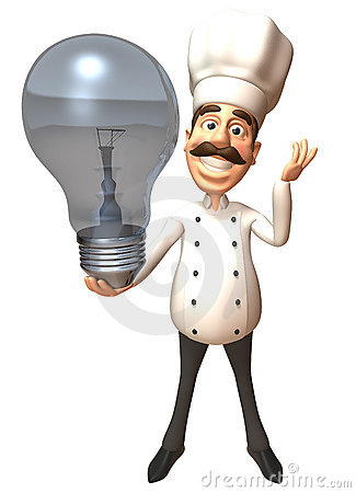 Chef with an idea