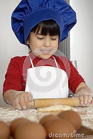 Chef kid.