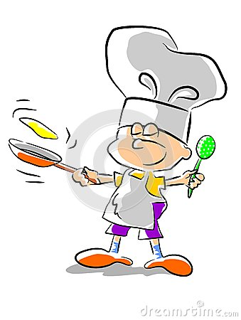Chef kid - illustration