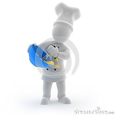 Chef kok het koken royalty vrije stock foto 39 s beeld 35078478 for Beeldkoken