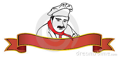 Chef logo with banner