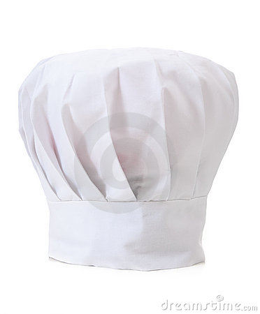 Chef s Hat on WHite