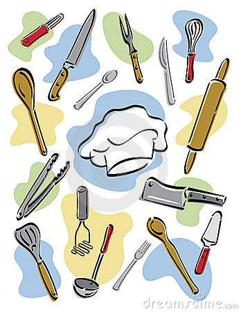 Chef's Tools Royalty Free Stock Photos - Image: 7760428