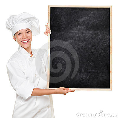 Free Chef Showing Sign Stock Photography - 20717362