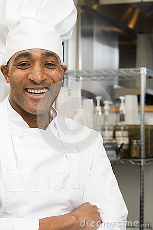 Free Chef Smiling Royalty Free Stock Photography - 62806917