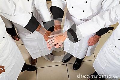 Chef teamwork