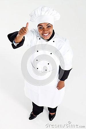 Chef thumb up