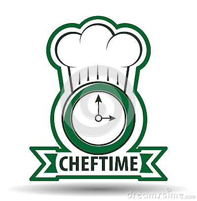 Free Chef Time Cook Vector Illustration Royalty Free Stock Images - 52242949