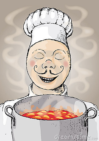Free Chef (vector) Stock Photography - 9627662