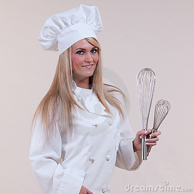 Free Chef Wisks Royalty Free Stock Photo - 17131935