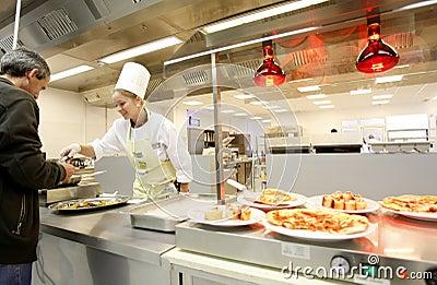 Chef woman Editorial Stock Photo