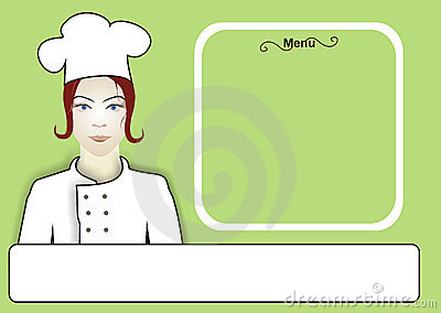 Chef Women Menu
