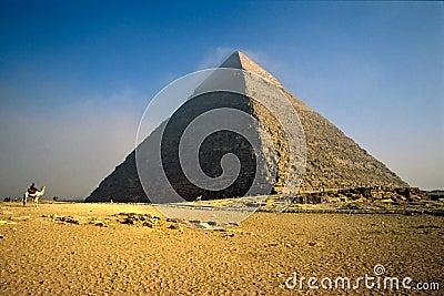 Chefren Pyramid, Giza, Egypt.