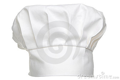 Chefs hat isolated