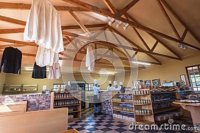 Chefs School Decor Kitchen Restaurant Editorial Image
