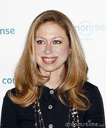 Chelsea Clinton Editorial Photography