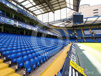 Chelsea FC Stamford Bridge Stadium Editorial Photo