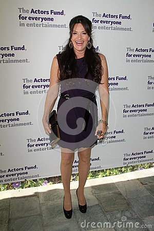 Chelsea Field at the Actors Fund 16th Annual Tony Awards Party honoring Jason Alexander, Skirball Center, Los Angeles, CA 06-10-12 Editorial Stock Image