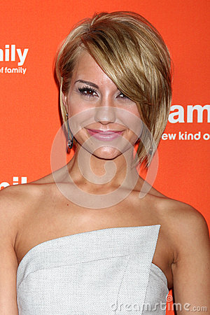 Chelsea Kane arrives at the ABC Family West Coast Upfronts Editorial Photo